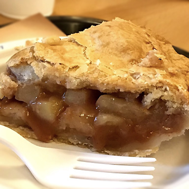 Fresh baked Apple Pie from Julian Pie Company
