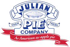 Fresh Apple Pie from the Julian Pie Company