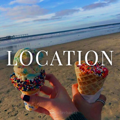 Location and Direction to Lighthouse Ice Cream
